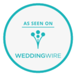 As Seen On WeddingWire Logo